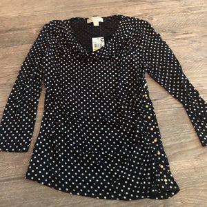 Michael Kors polka dot shirt